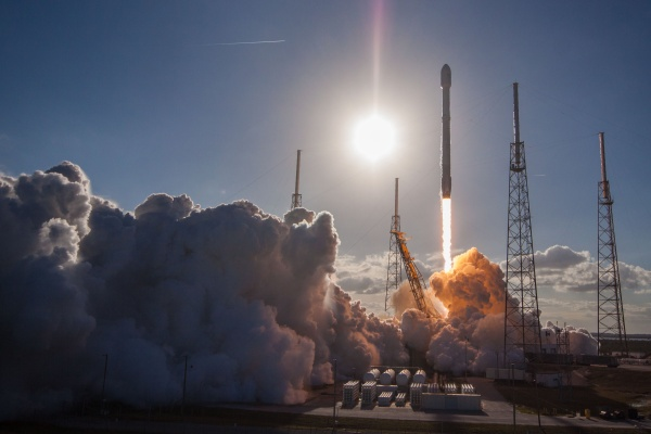 Start der Falcon 9 v1.2 mit GovSat 1